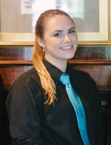Server Anna Courtney